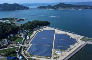 千葉工場の太陽光発電システム